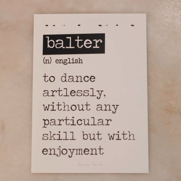 Balter Card
