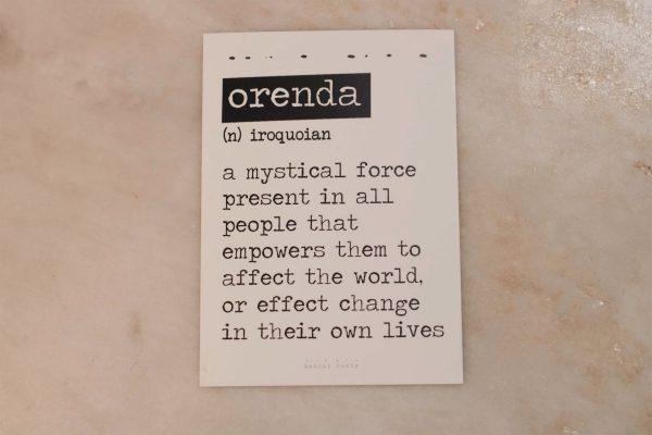 Orenda Card