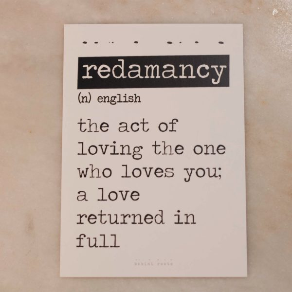 Redamancy Card