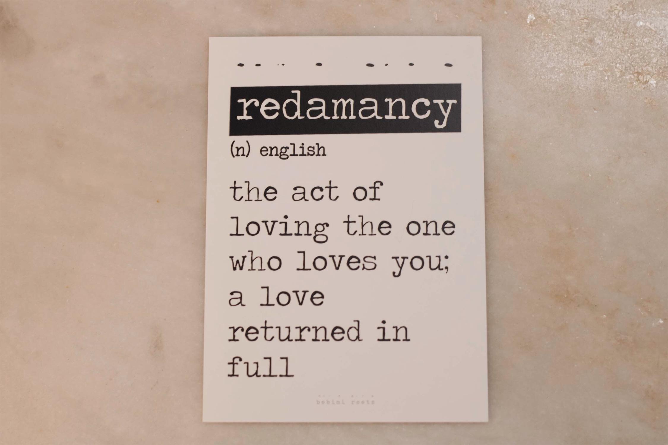 Redamancy Card