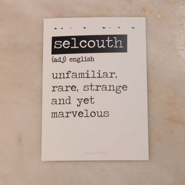 Selcouth Card
