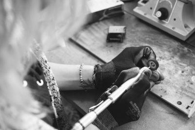 into the atelier: Audrey Victoria