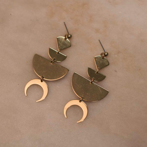 Fantasy Earrings - Brass 1.1