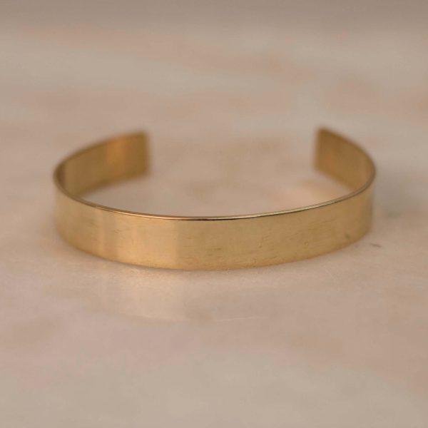 Wide Cuff Brass - 3