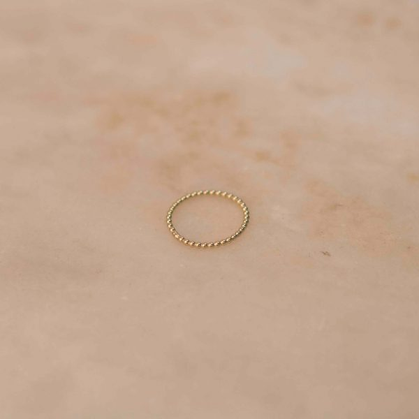 Dots Ring - 14k Yellow Gold 1