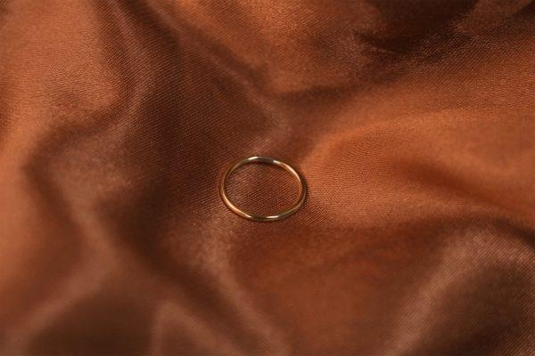 bobini roots Stacking Ring Plain 2.