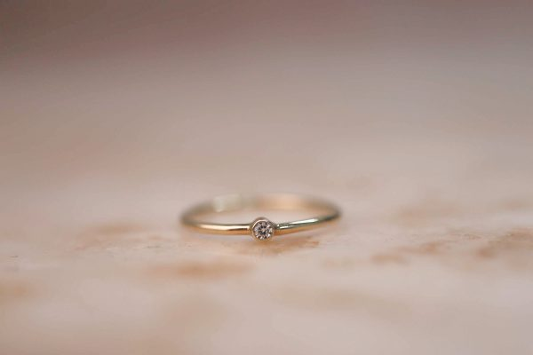 14k-Gold-Tiny-Soliaire-Ring-with-Moissanite-or-Diamond.