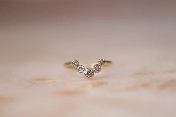 14k-gold-ARCH-ring-with-Moissanite.