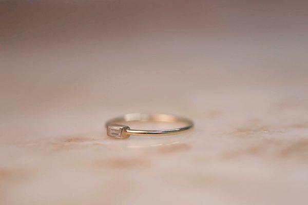 14k-gold-Moissanite-Baguette-Ring-2
