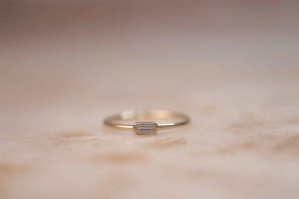 14k-gold-Moissanite-Baguette-Ring