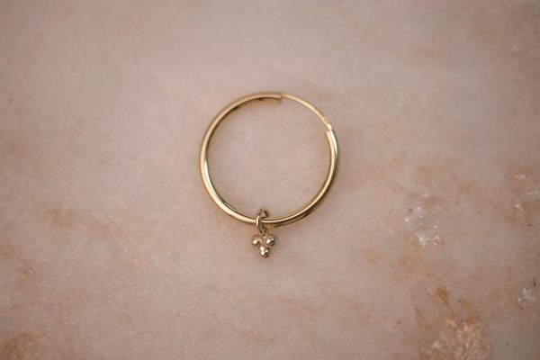 Charm-Triple-Dot-Hoop-Medium-2
