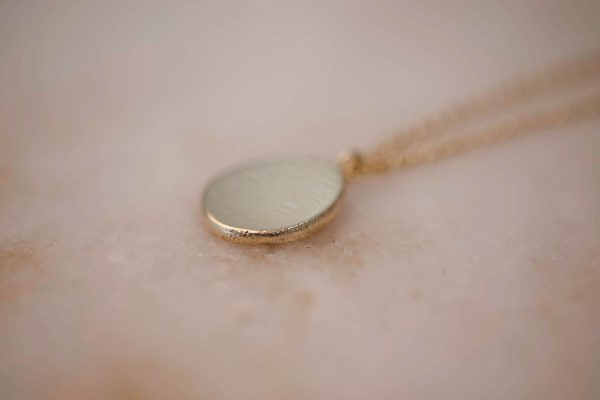 Necklace-with-Organic-Pendant-14k-Gold-4