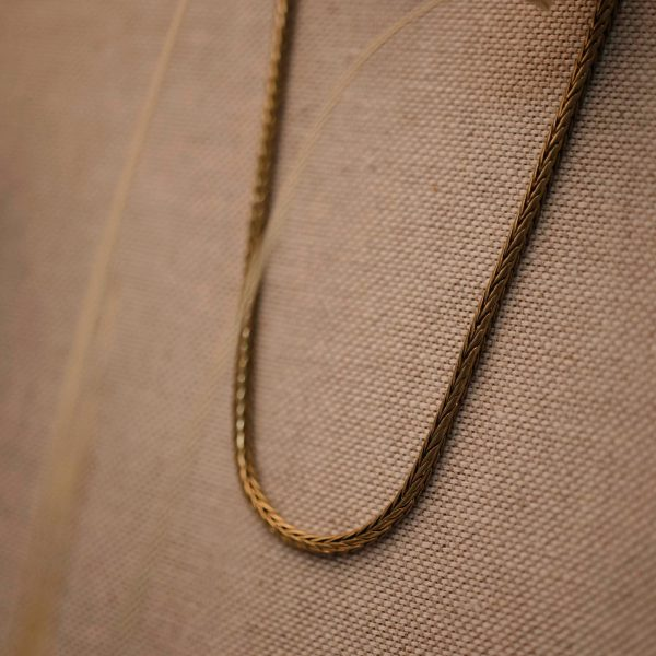 Vintage Snake Necklace